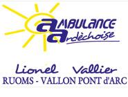 Ambulance Vallier à Ruoms
